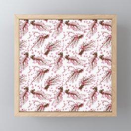 Cherry blossom Sakura Framed Mini Art Print