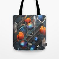 geo Tote Bags featuring Geo by Tomas Brechler