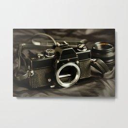 Vintage Camera 2 Metal Print