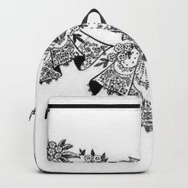 Vintage Lace Hankies Backpack