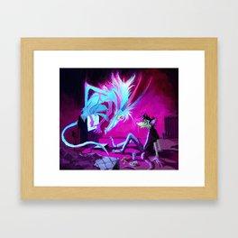Video Demon Framed Art Print