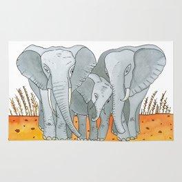 Noah's Ark - Elephant Rug