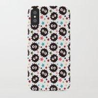 hayao miyazaki iPhone & iPod Cases featuring Hayao Miyazaki's Susuwatari by Jana Garin