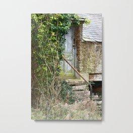 The Old Door Metal Print