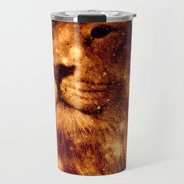 Cosmic Leo Lion Travel Mug
