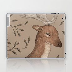 The Fallow Deer and Oats Laptop & iPad Skin