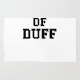 Property of DUFF Rug