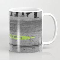 street Mugs featuring street by habish