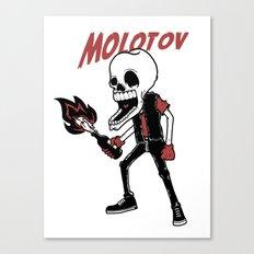 Molotov Canvas Print