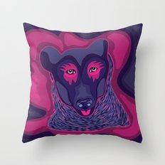 Himalayan Bear Throw Pillow