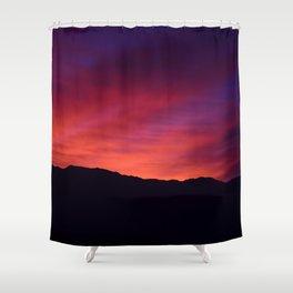 SW Mountain Sunrise - 5 Shower Curtain