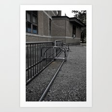 Old School Yard #7 Art Print