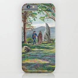Craigh na dun (Outlander) iPhone Case