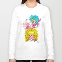 misfits Long Sleeve T-shirts featuring Misfits Jem and the Holograms by Lady Love