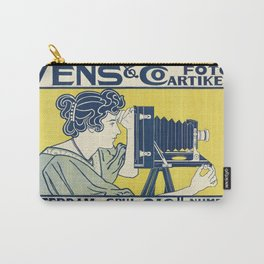 Vintage Camera Poster, 1899 Carry-All Pouch