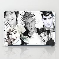 1d iPad Cases featuring 1D Splat by D77 The DigArtisT
