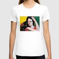dia de los muertos T-shirts featuring Dia de los Muertos by whiterabbitart