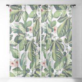 Fig Garden #society6 #decor #buyart Sheer Curtain