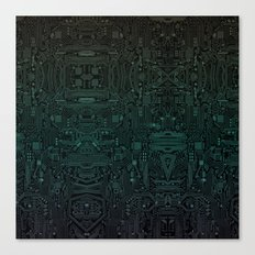 Circuitry Details Canvas Print