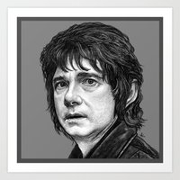 hobbit Art Prints featuring HOBBIT by zinakorotkova