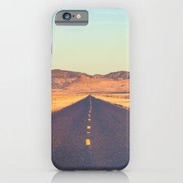 Lost Highway II iPhone Case