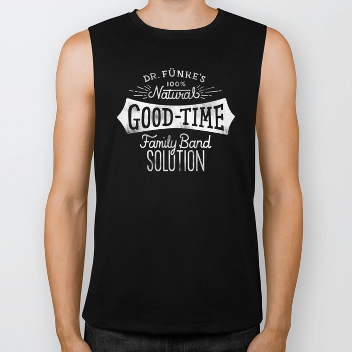 Dr. Funke's 100% Natural Good-Time Family Band Solution Biker Tank