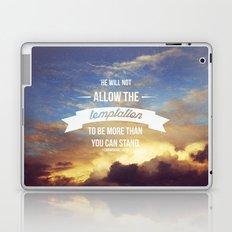 1 Corinthians 10:13 Laptop & iPad Skin