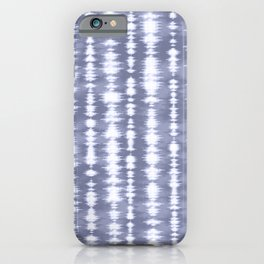 Pastel Blue Tie Dye iPhone Case