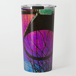 basketball art Travel Mug