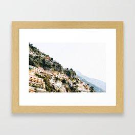 Almafi Coast Framed Art Print