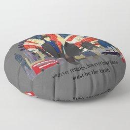 Sherlock - Eliminate The Impossible Floor Pillow