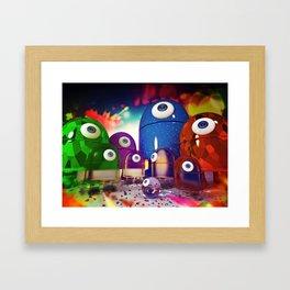 Android Family Framed Art Print