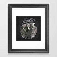 Rat Pack Framed Art Print