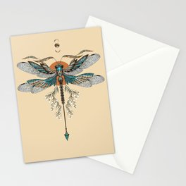 Dragonfly Tattoo Stationery Cards