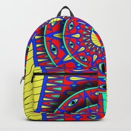 All Seeing Mandala Backpack