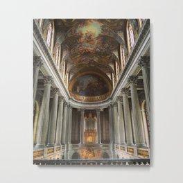 Looking Up at Chateau Versailles Metal Print