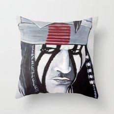 KE-MO SAH-BEE (FAITHFUL FRIEND) Throw Pillow