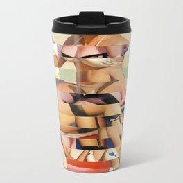 Glitch Pin-Up Redux: Ursula Metal Travel Mug