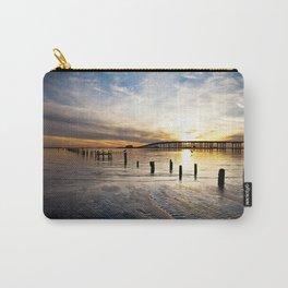 Biloxi Bay Sunset Carry-All Pouch