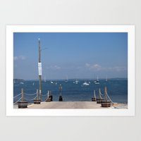 Newport Beach Art Print
