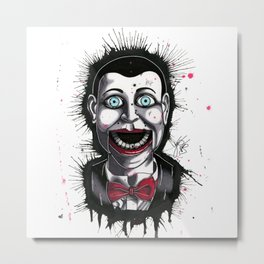 The Horror of Billy the Doll Metal Print
