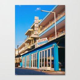 Filoxenia Hotel Canvas Print