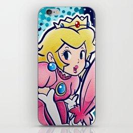 Princess Peach iPhone Skin