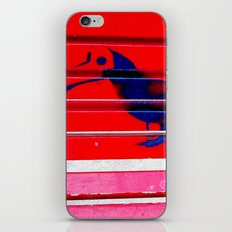 Even the birds wear masks here iPhone & iPod Skin