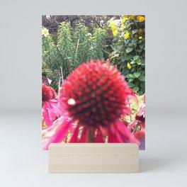 BLOOMING RED Mini Art Print