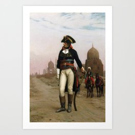 Jean-Leon Gerome - Napoleon in Egypt Art Print