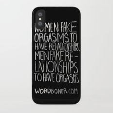 Orgasms Slim Case iPhone X