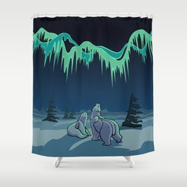 Arctic Art Gifts Shower Curtain