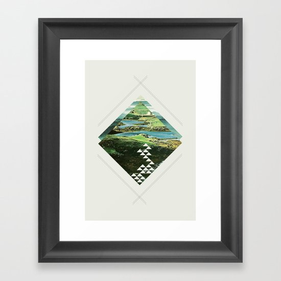 scotland and other places Framed Art Print