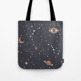 Mystical Galaxy Tote Bag